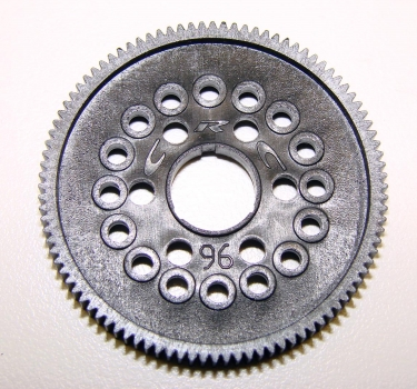 Team CRC 96T 64P Spur Gear - 16x 3/32 in. balls