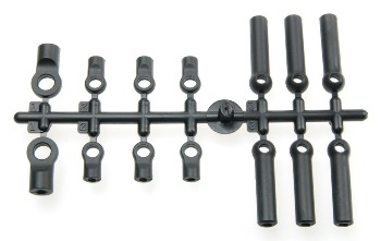 PLASTIC BALL JOINT SET: COMPLETE 26pcs
