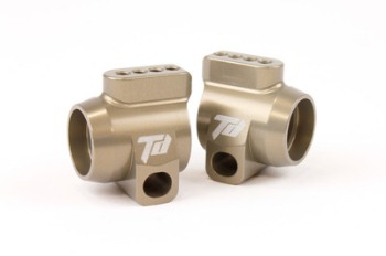 Team Durango ALUMINIUM REAR HUB CARRIERS (1 pair)