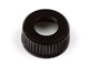 SHOCK SEAL CAP ALUMINIUM (1pc) (BLACK)