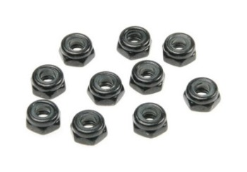 Team Durango LOCK NUT M3: LOW PROFILE (10pcs)