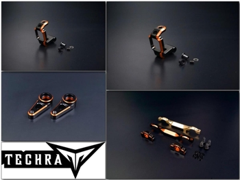 Techra Aluminium Set for Xray T4