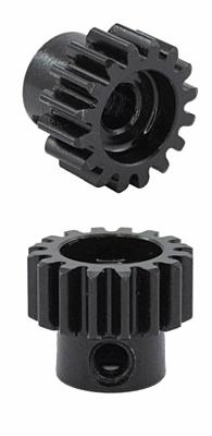Ultimate Racing HSS Steel M1.0 Pinion Gear 16T w/5.0mm Bore
