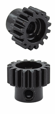 Ultimate Racing HSS Steel M1.0 Pinion Gear 17T w/5.0mm Bore