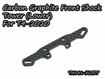 Vigor Carbon Graphite Lower Front Shock Tower for Xray T4-2020