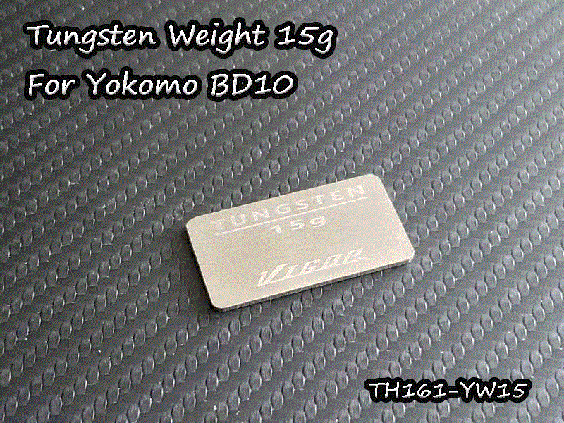 Vigor Tungsten weight 15g for Yokomo BD10