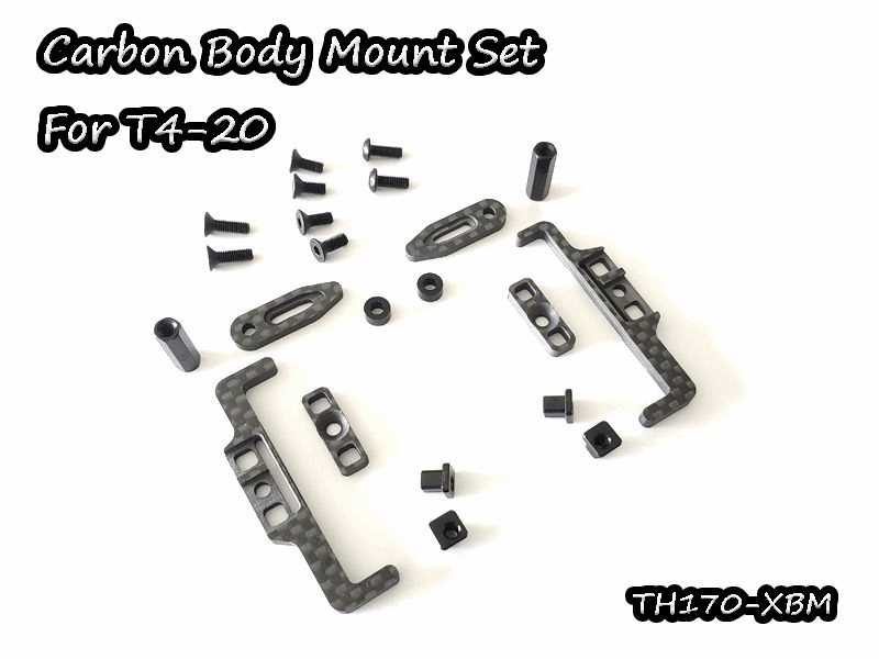 Vigor Xray T4-2020 Multi Carbon Battery Mount