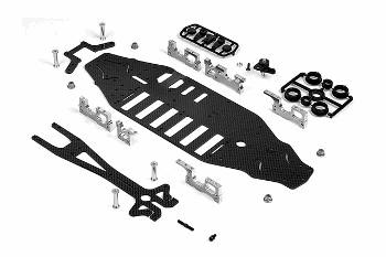 XRAY T2 007 - EU Rubber-Spec Edition - Conversion Set