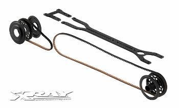 XRAY T2`009 - Rubber-Spec Conversion Set - Forward Motor Position