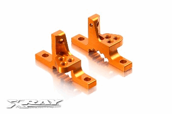 XRAY T3 Upper clamps with Adj. roll centre (L+R) Pair