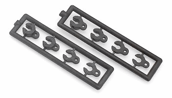 XRAY Caster Clips Set - 4,3,2,1mm (2)