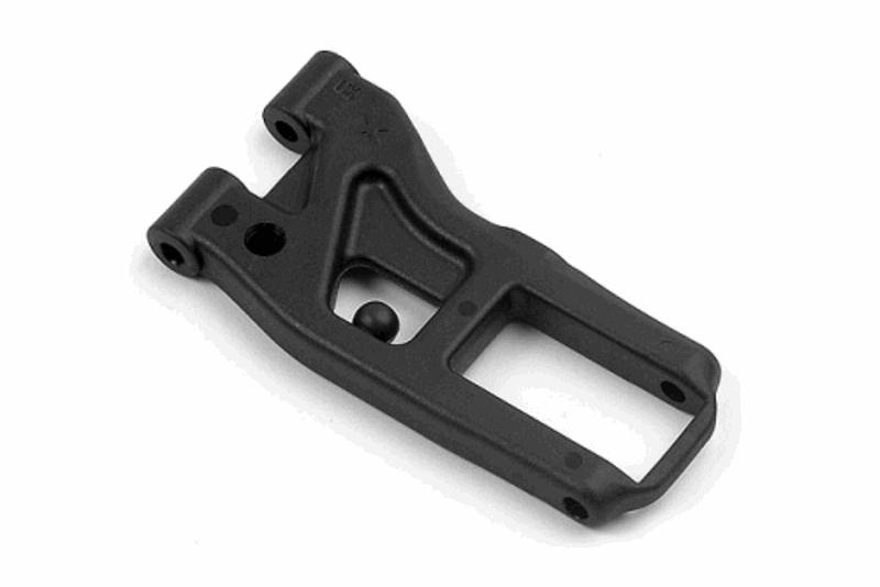 XRAY Front Susp. Arm - Extra-Hard - 1-Hole