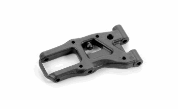 XRAY Front Suspension Arm - Graphite - 1 - Hole