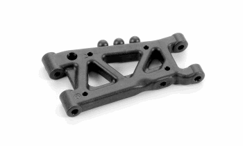 XRAY Rear Suspension Arm - Graphite - 1 - Hole
