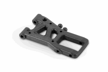 XRAY Ars - Active Rear Suspension Arm - Graphite - 1-Hole