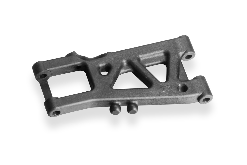 Team  Xray T4 2020 - Rear Suspension Arm long right - GRAPHITE