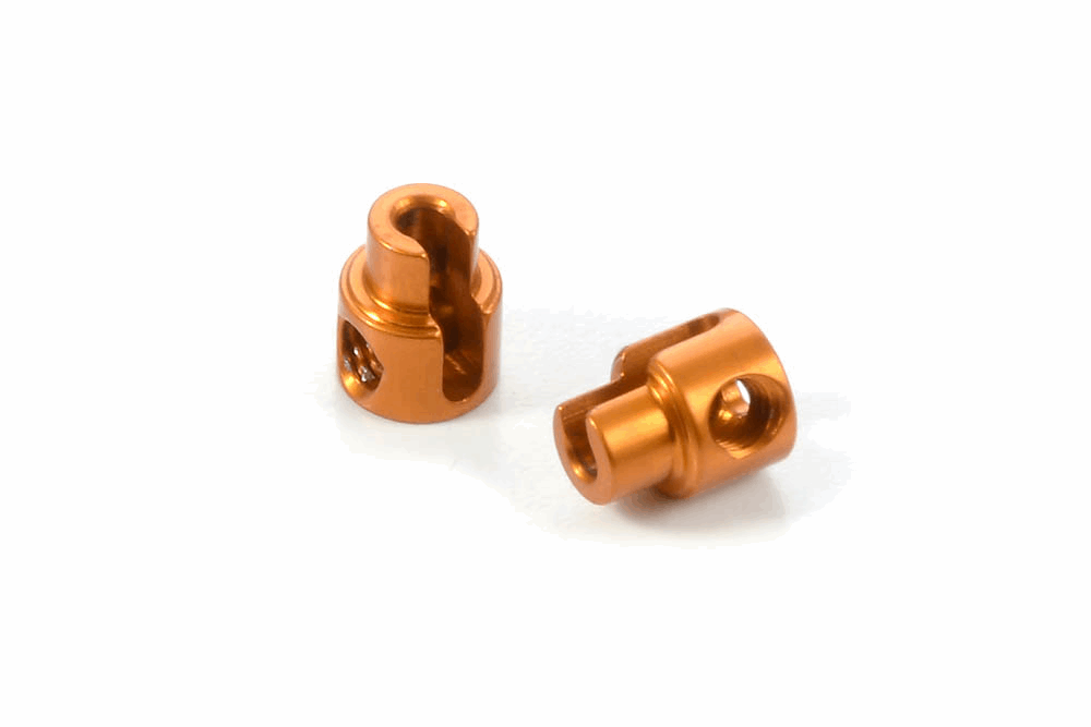 XRAY Alu Anti-Roll Bar Bushing - Orange (2)