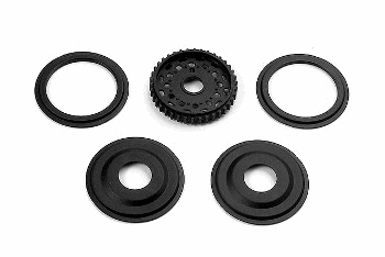 XRAY T2 008 Diff Pulley 38T with Labyrinth Dust Covers