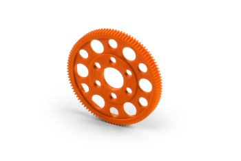 XRAY Offset Spur Gear 100T / 64 Orange