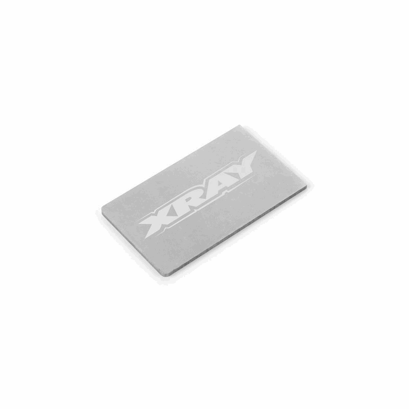 XRAY Pure Tungsten Chassis Weight 12g