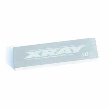 Xray pure Tungsten Center Chassis Weight 30g