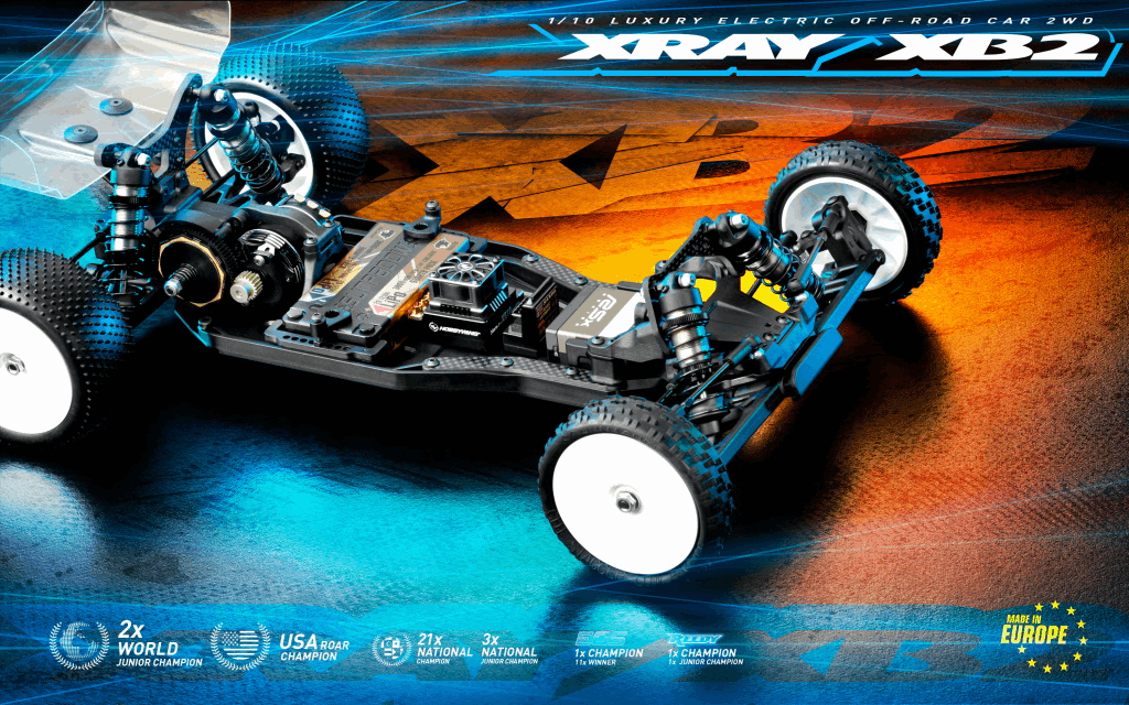 XRAY XB2C`21 - Carpet Edition - 2WD 1/10 Electric Off-Road Car