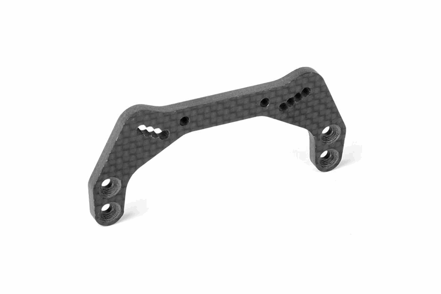 XRAY XB2`21 Graphite Shock Tower - 4-Holes - Front - 3.5mm