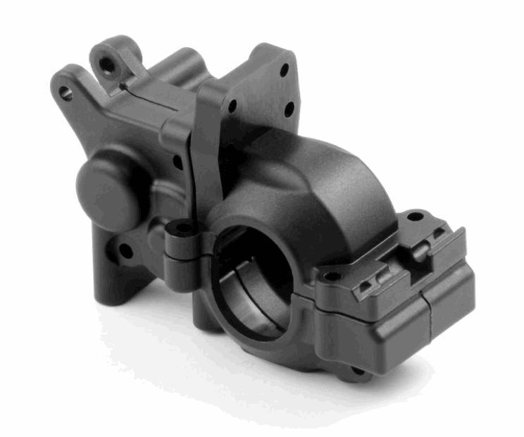 XRAY Composite Rear Motor Gear Box - LCG - Graphite - Set