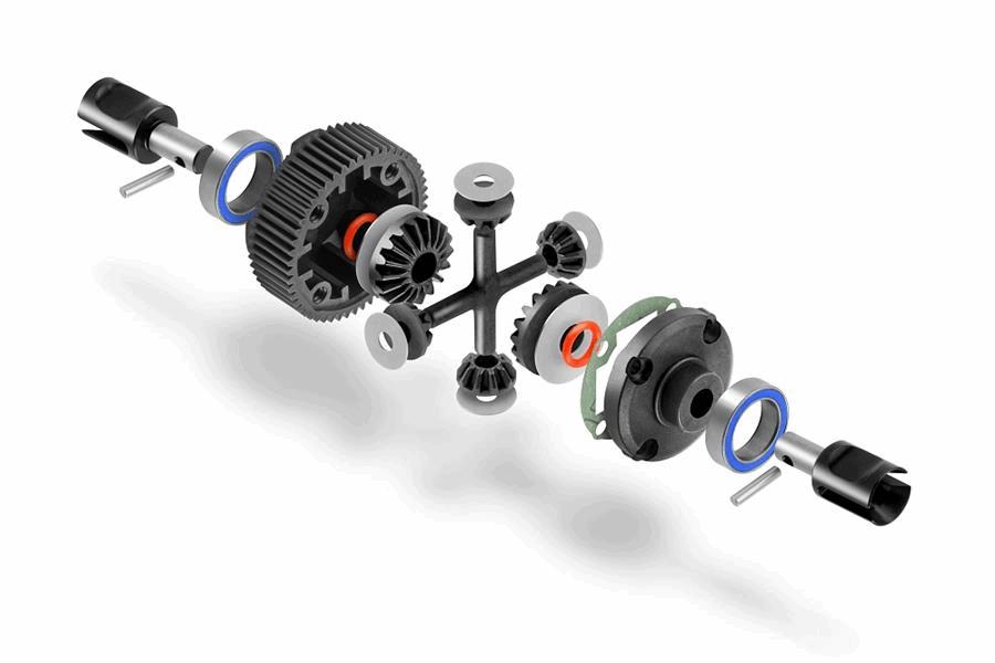 XRAY XB2 Gear Differential - LCG - Set