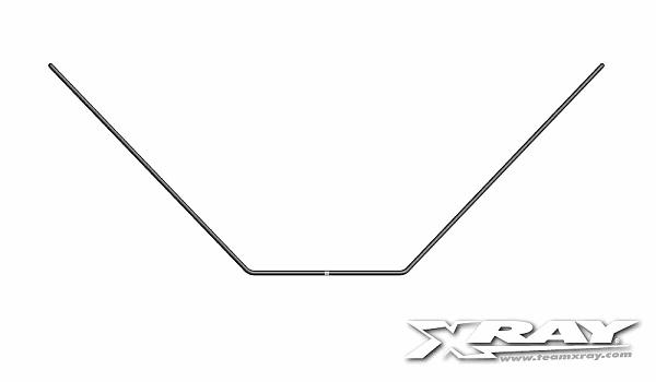XRAY XB2 Anti-roll Bar Rear 1.1mm