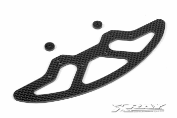 XRAY X10 Graphite Front Bumber & Shims