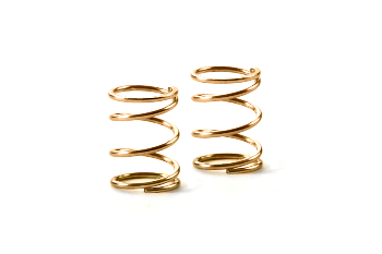 XRAY Spring 4.25 Coils 3.6x6x0.4mm C=1.5 - Gold (Soft) (2)