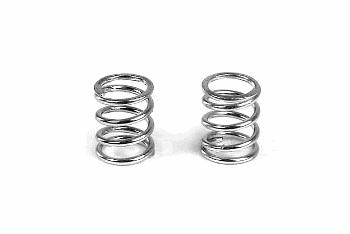 XRAY Spring 4.75 Coils 3.6x6x0.55mm C=4.0 - Silver (2)