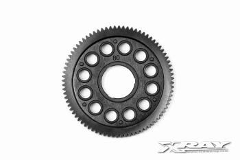 XRAY Composite Spur Gear - 80T / 64P