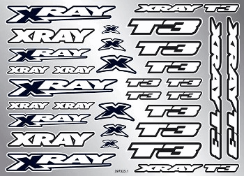 XRAY T3 Sticker for Body