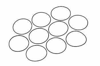 XRAY Silicone O-Ring 24x0.7 (10)