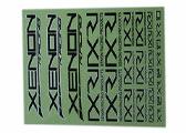 2004 Xenon Racing Sticker (black)
