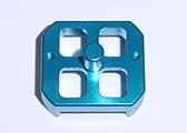 Xenon AMB my transponder holder (blue)