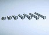 Xenon Titanium hex botton head screw 8pcs (3x8)