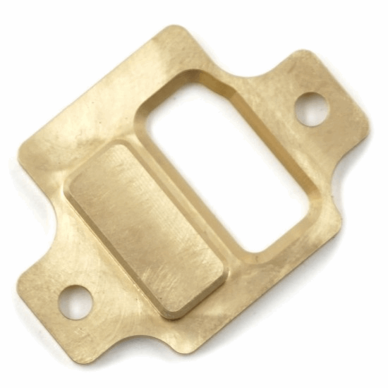 Xpress Brass Lower Bulkhead Plate For Execute FT1