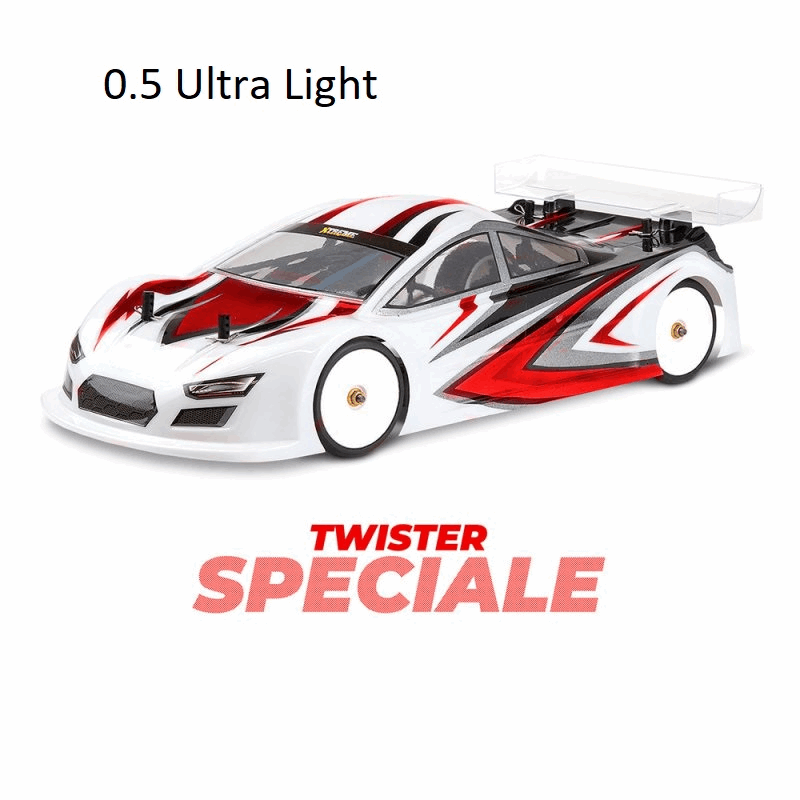 Xtreme 1/10 Twister SPECIALE Touring Car Clear Body 0.5mm (190mm)