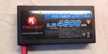 YUNTONG 37V 4600mAh 40C Race